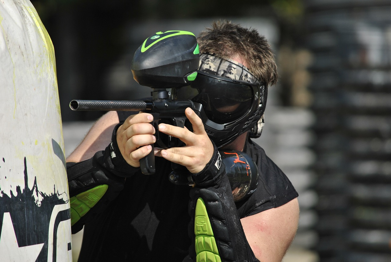 The Life of a Professional Paintball Player
